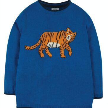 Maglioncino tigre 3/4 anni - Frugi