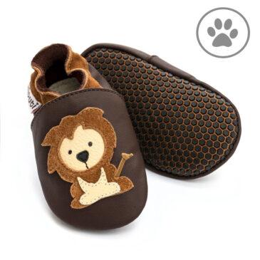 Babbucce taglia 20/21 L Protector Lion Soft Paws - Liliputi