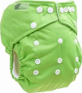 Pannolino Lavabile Pocket Verde Taglia Unica - Little Lamb