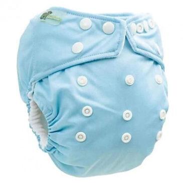 Pannolino Lavabile Pocket Celeste Taglia Unica - Little Lamb
