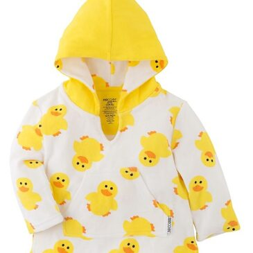 Accappatoio Baby Cover Up UPF 50+ paperotti 0/12 mesi - Zoocchini