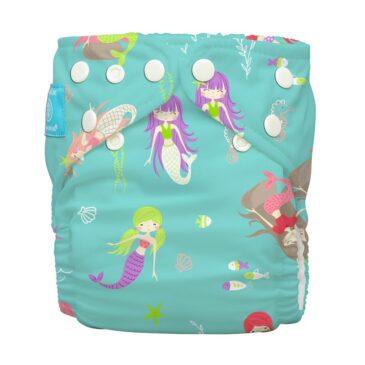 Pannolino Pocket Taglia Unica Mermaid Jade - Charlie Banana