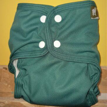 Pannolino Pocket Taglia 1 Verde bottiglia - Little Lamb