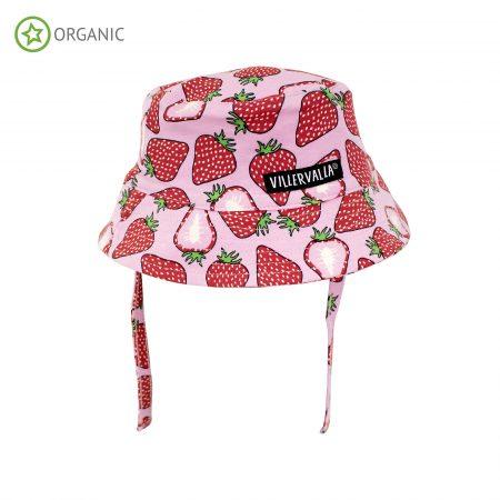 Cappellino con protezione UV fragola 44/46 - Villervalla