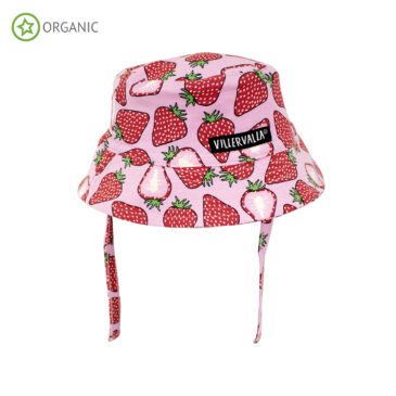 Cappellino con protezione UV fragola 48/50 - Villervalla