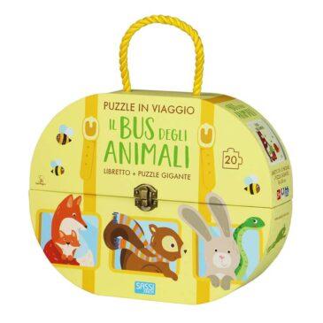 Il bus degli animali puzzle - Sassi