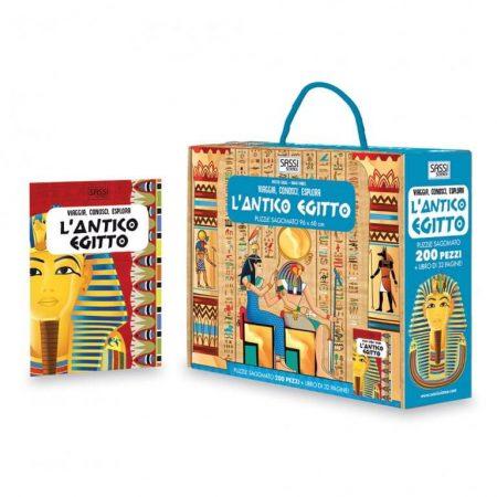 L'antico Egitto libro e puzzle - Sassi