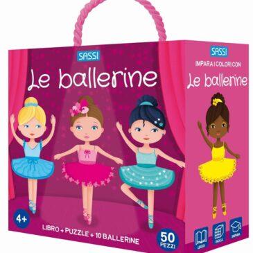 Le ballerine libro + puzzle - Sassi