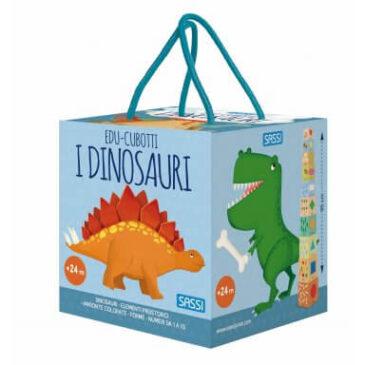 I dinosauri - cubotti e primo atlante - Sassi