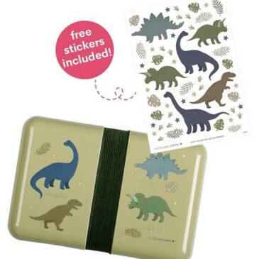 Porta merende da Decorare - Dinosauri - A little lovely company
