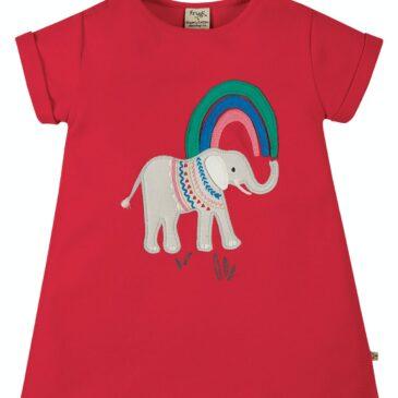 T-shirt elefante 6/12 mesi - Frugi