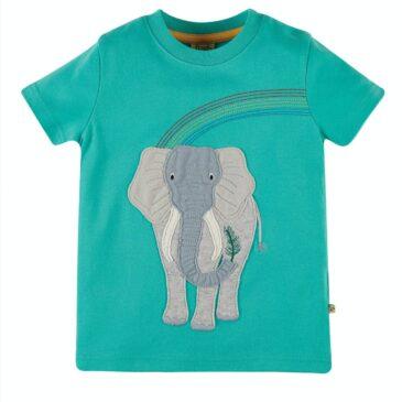 T shirt elefante 3/4 anni - Frugi