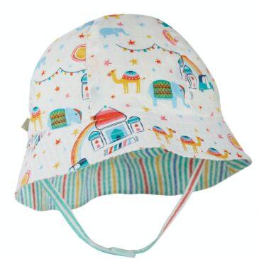 Cappello reversibile party 0/6 mesi - Frugi