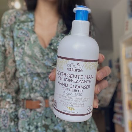 Detergente Mani Gel Igienizzante - Formato : 500 ml - Officina Naturae