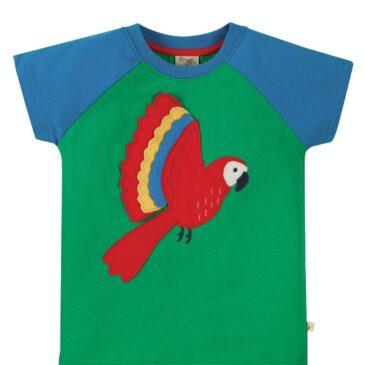 Maglia pappagallo 4/5 anni - Frugi