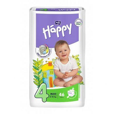 Pannolini taglia 4 pacco da 46 pezzi - Happy