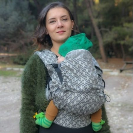 Neko Switch baby size Carrier Lycia Elmas - Marsupio ergonomico Toddler