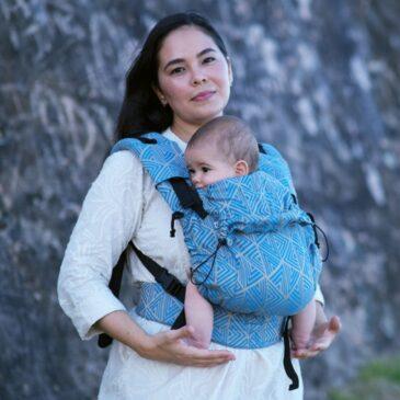 Neko Switch Baby size Shiraz - Marsupio ergonomico regolabile
