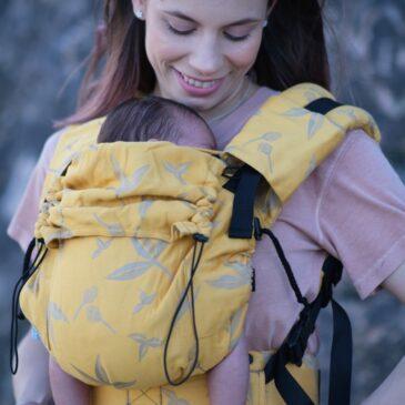 Neko Switch Baby size Gemma - Marsupio ergonomico regolabile