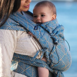 Neko Half Buckle Shiraz Baby Size - Marsupio Ibrido Ergonomico Regolabile