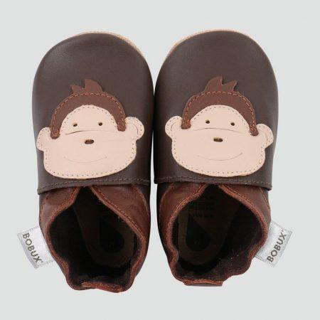 Babbucce taglia 16-17 S chocolate monkey - Bobux
