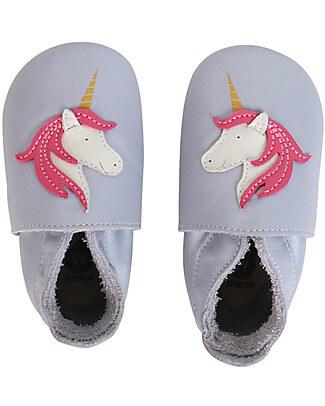 Babbucce taglia 20-21 L unicorno rosa - Bobux