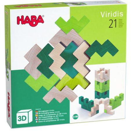 Gioco di composizione 3D Viridis - Haba
