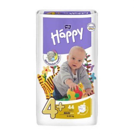 Pannolini taglia 4+ pacco da 44 pezzi - Happy