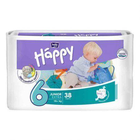Pannolini taglia 6 pacco da 38 pezzi - Happy