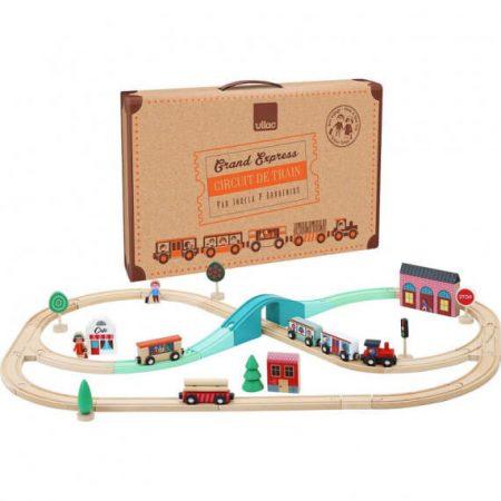 Set treno e ferrovia - Vilac