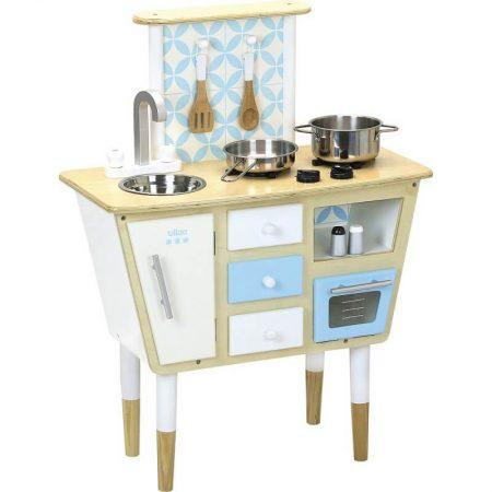 Cucina vintage con accessori 60 x 80 x 30 cm - Vilac