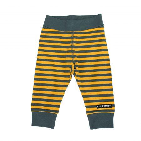 Pantaloni grigio/senape taglia 80 - Villervalla