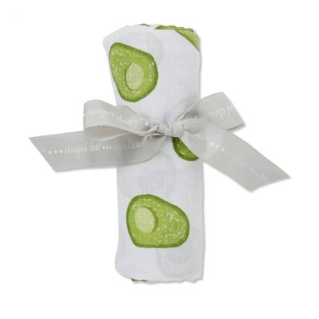 Mussola 120x120 avocado - Angel dear