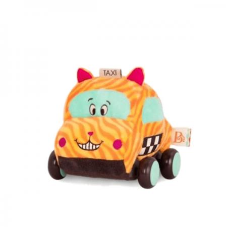 Macchina morbida giallo arancio- B Toys