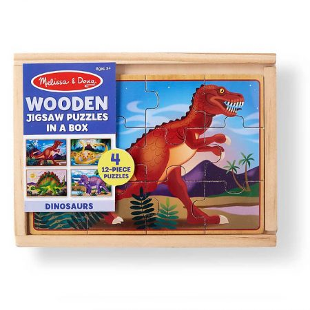 Dinosauri - 4 Puzzle da 12 Pezzi - Melissa and Doug