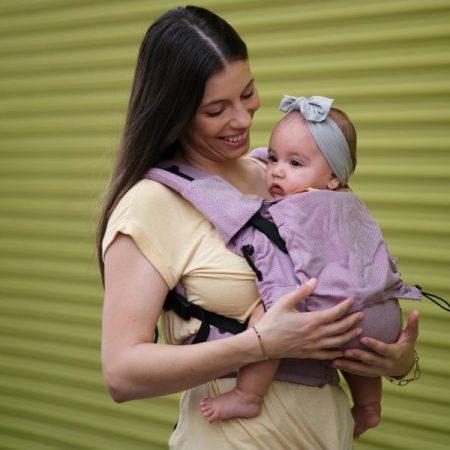 Neko Switch Baby size Cotton Candy - Marsupio ergonomico regolabile
