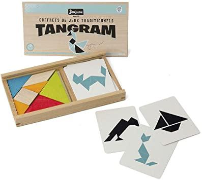 Tangram in scatola di legno - Vilac