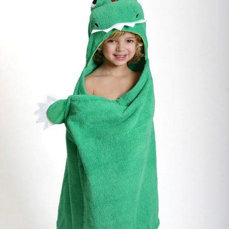 Accappatoio drago verde - Zoocchini