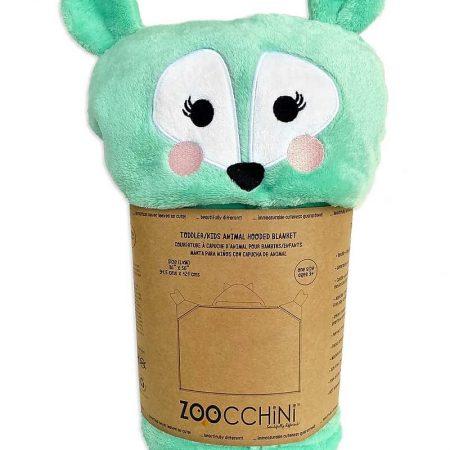 Copertina da Indossare Cerbiatto Con cappuccio e guantini - Zoocchini