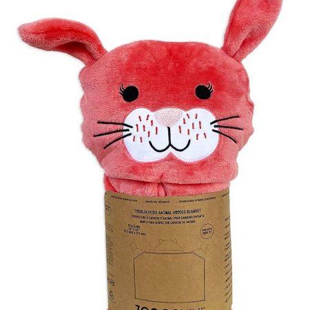 Copertina da Indossare Coniglio Con cappuccio e guantini - Zoocchini